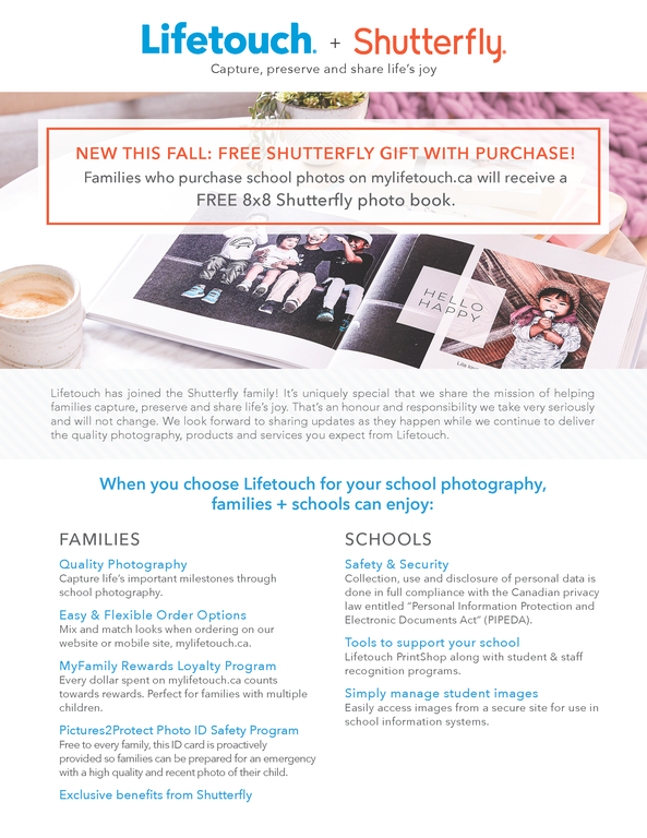 Lifetouch Shutterfly Gift With Purchase