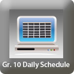 tp_Gr 10 Daily Schedule
